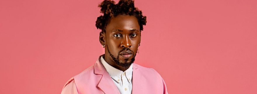 Orezi Is Showing Stylish Men How To Wear Pink In Man Magazine New Cover