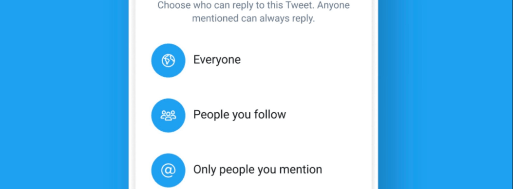 Twitter Tests New Feature That Allows Users Control Who Can Reply To Tweets