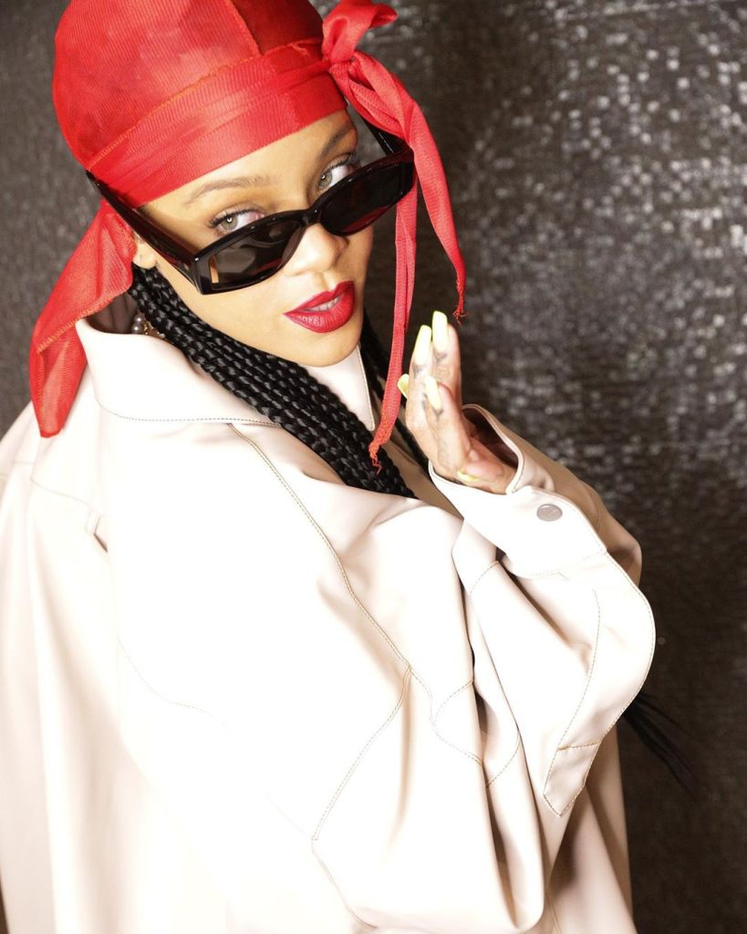 Rihanna Out With New Fenty Eyewear Collection, Styles Them Like The Baddie She Is