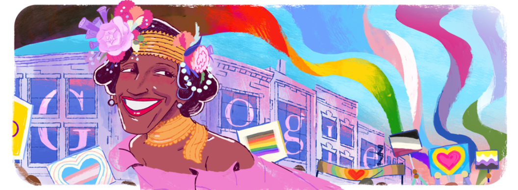 Google Unveils Doodle Celebrating LGBTQ+ Activist Marsha P. Johnson