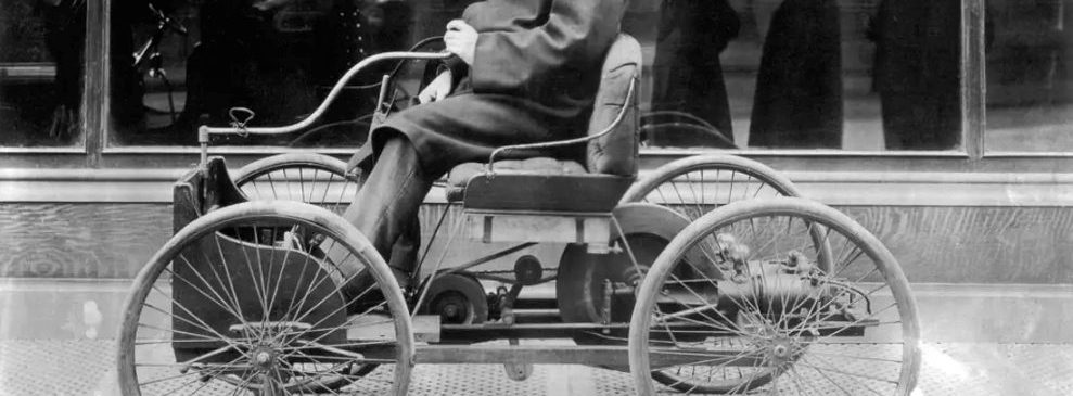 Tech Throwback: Today In 1896, Henry Ford Unveils The Quadricycle