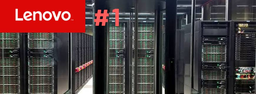 Lenovo Is the Number One Supercomputer Vendor For Fifth Consecutive Time