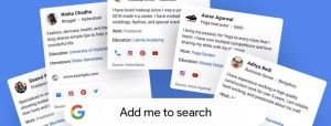 Google Is Testing A New Public Profile System Called People Cards