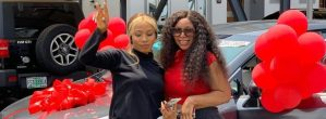 Mercy Eke Gifts Her Sister An SUV To Celebrate Birthday
