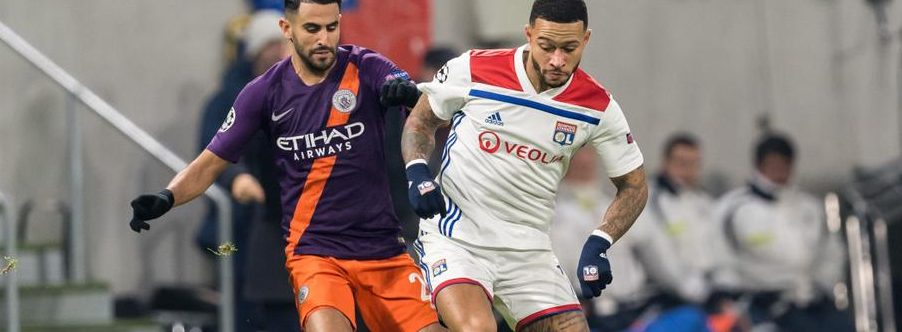 Champions League: Watch Manchester City - Lyon On Smartphone