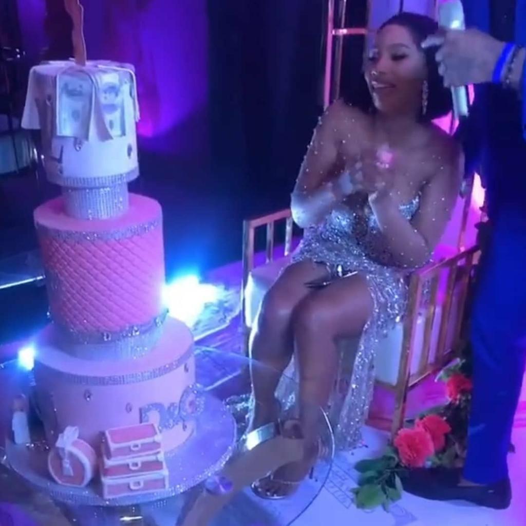 Mercy Eke Hosts Ex BBNaija Housemates At Her Birthday Dinner