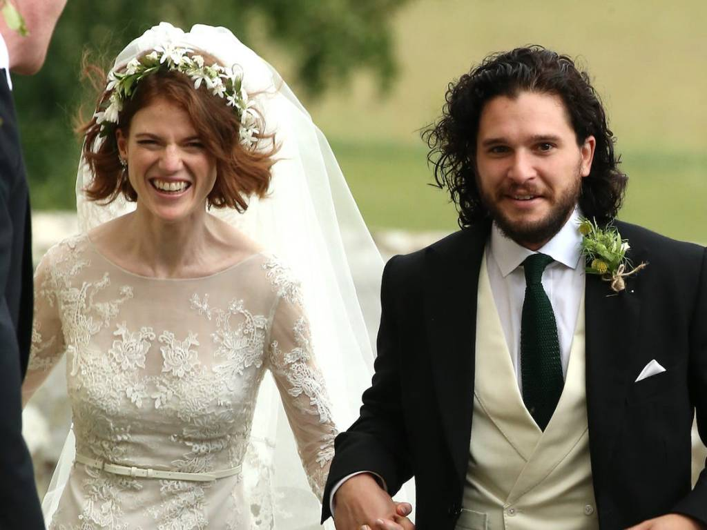 """""""Game Of Thrones"""" Stars Rose Leslie And Kit Harington Are Expecting Their First Child"""