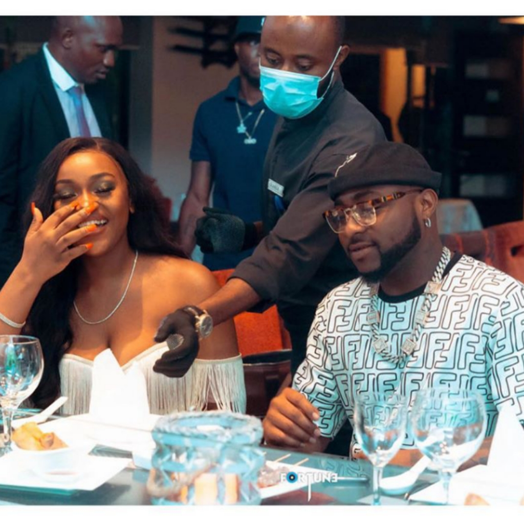 Chioma Deletes Engagement Photos- Is Her Relationship With Davido Over?