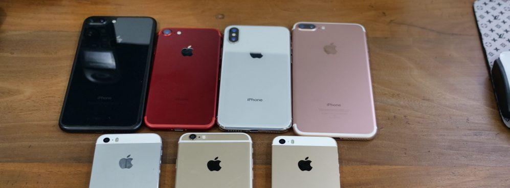 iphones in 2020