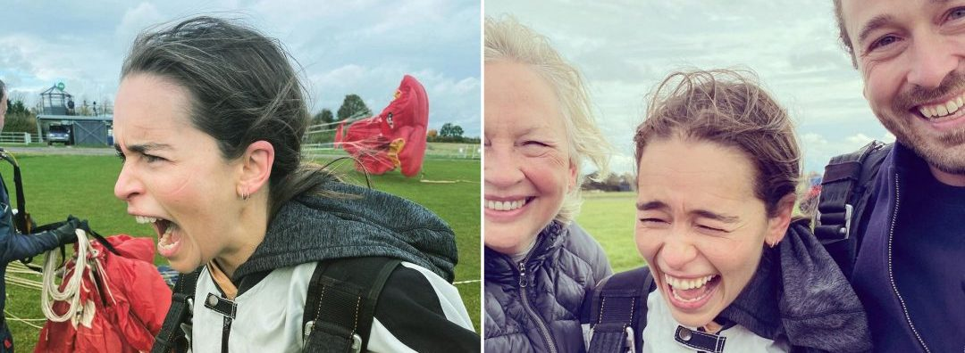 Emilia Clarke Jumps Out Of A Plane To Mark 34th Birthday