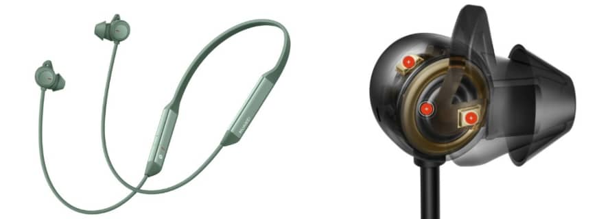 Huawei Reveals Noise Cancellation Earphones, FreeLace Pro, See Details