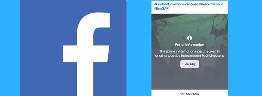 Why Is Facebook Labelling Pictures From Lekki Killings 'Fake News'?