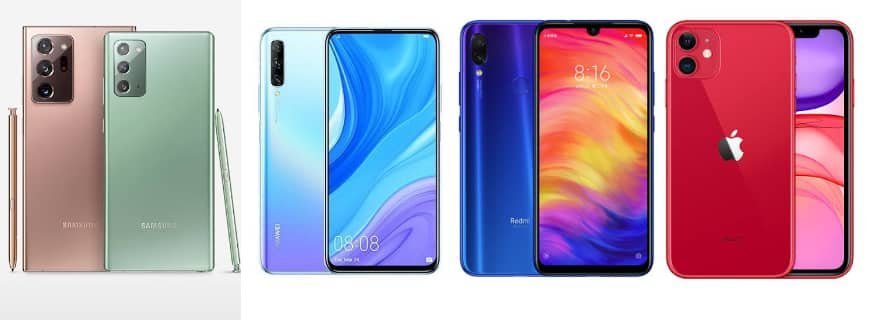 Global Smartphone Market Q3 2020: Samsung Topples Huawei And Xiaomi Overtakes Apple