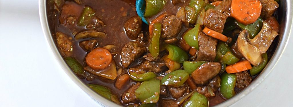 Savour The Deliciousness Of Beef and Green Pepper Stir Fry