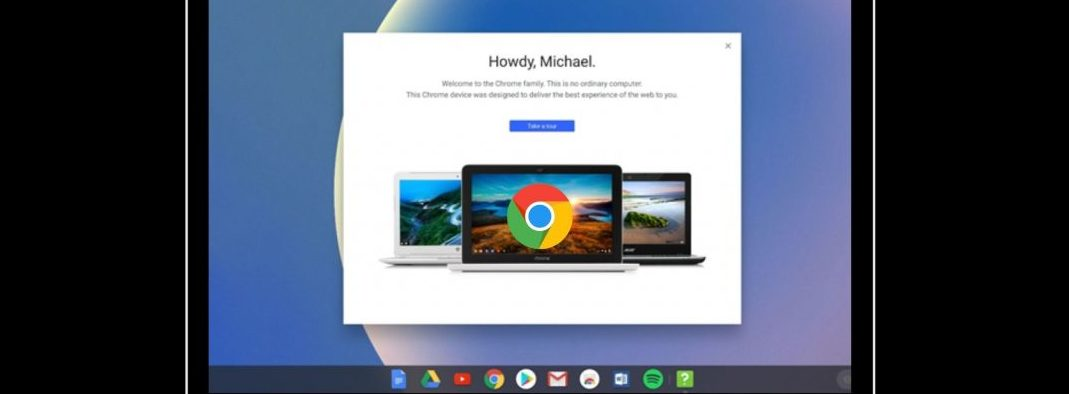 Chrome OS Dark Mode