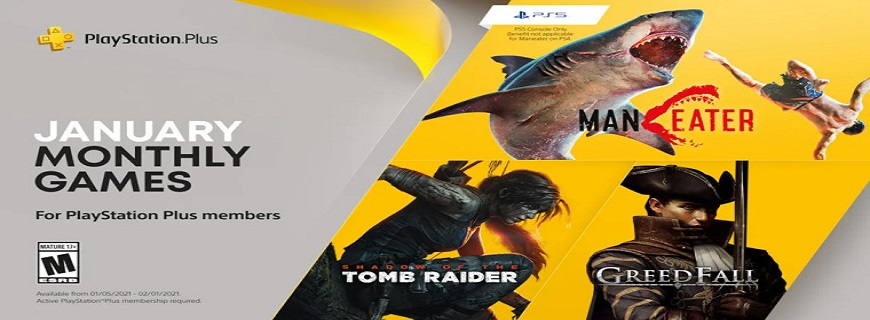 Sony Announces PlayStation Plus Titles For January 2021