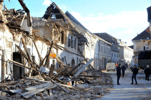 Six Dead As Earthquake Strikes Central Croatia