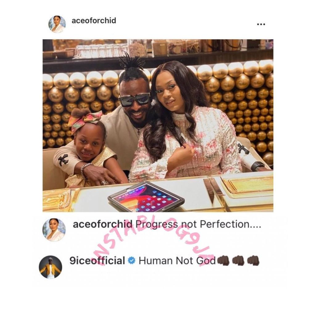 9ice And His Wife Sunkanmi Reconciles After His Cheating Scandal
