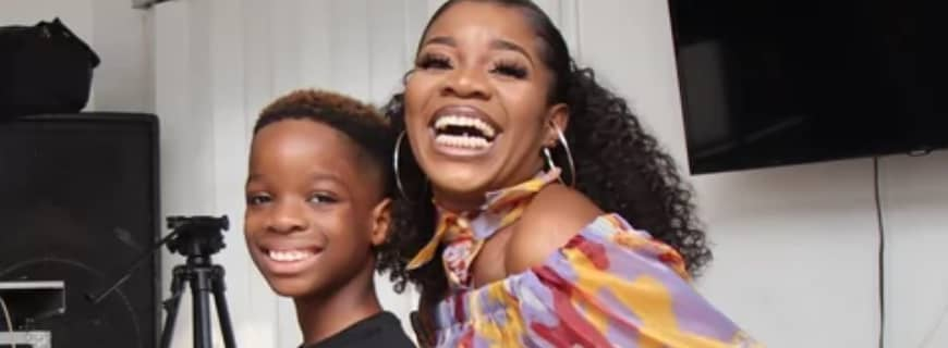"""""""Stop Sending My 9-year-old Son N*des"""" Wizkid's Baby Mama, Shola Ogudu Cries Out"""