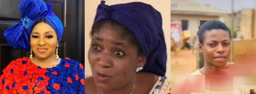 Mide Martins Responds To Allegations Of Abandoning Her Stepbrother