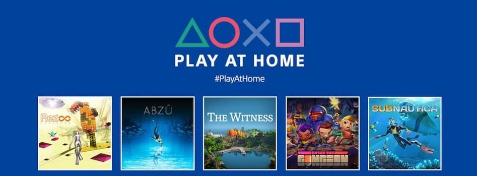 Sony Play At Home Initiative