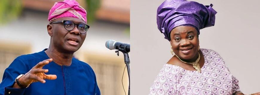 Gov Sanwo-Olu Gifts Nollywood Actress Iya Awero A House