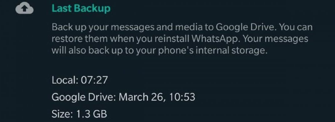 WhatsApp Is Reportedly Working On Password Protection For Chat Backups