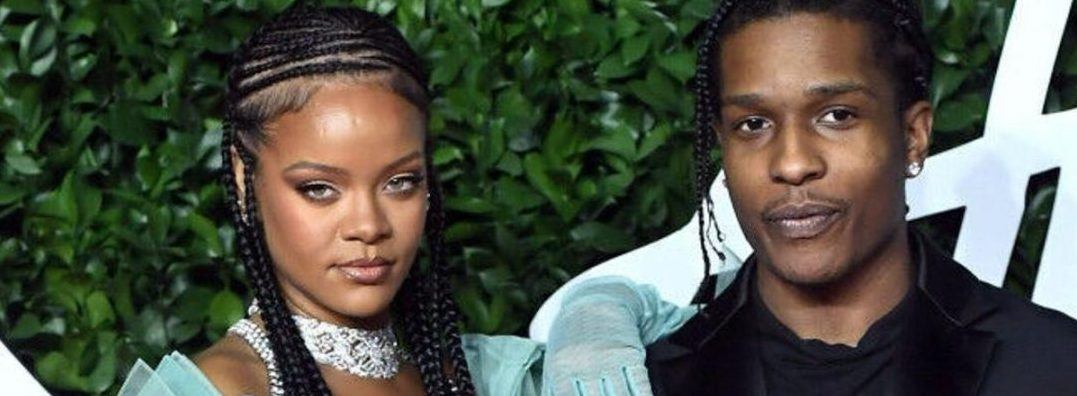 Rihanna And A$AP Rocky Are Now A Matching-Outfit Couple! See Photos