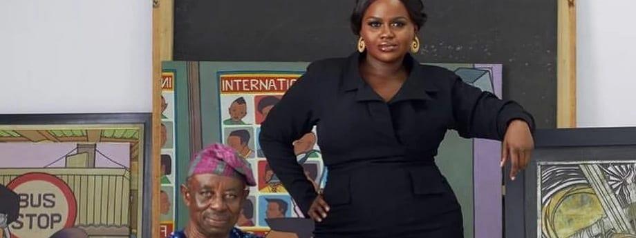 """""""Ayinla""""- Jade Osiberu Says She's Proud To Have Worked With Tunde Kelani"""