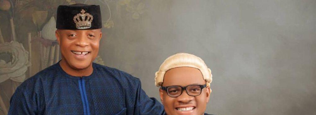 Veteran Musician Bright Chimezie Celebrates His Son's Call To Bar