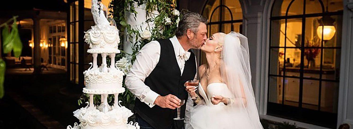 See Photos From Gwen Stefani And Blake Shelton's Intimate Wedding
