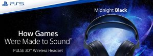 Sony Releases Its Anticipated Pulse 3D Audio Headset In Midnight Black