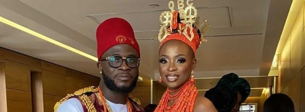 See Photos From Comedian Craze Clown And Jojo's Wedding