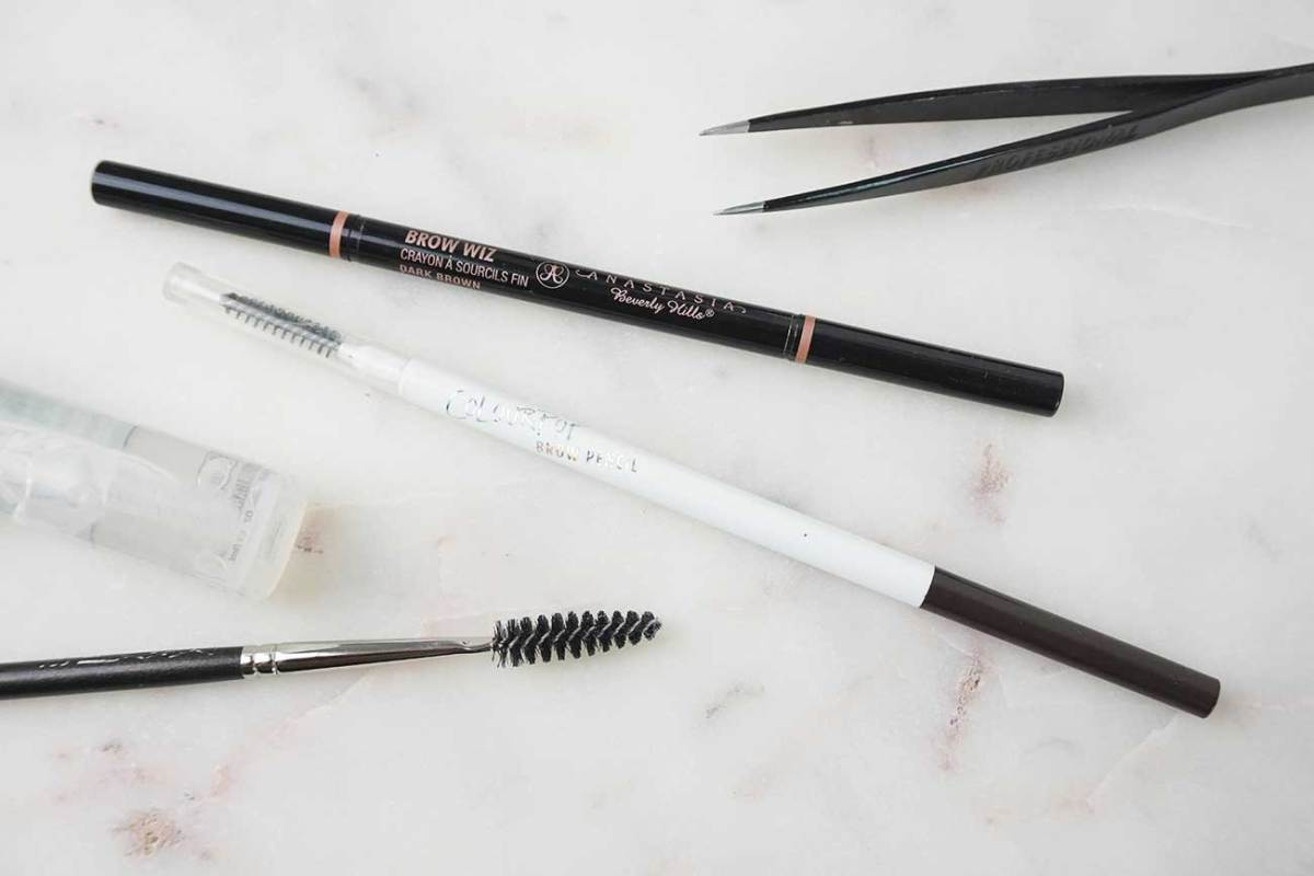 Anastasia Brow Wiz VS. Colourpop Brow Pencil