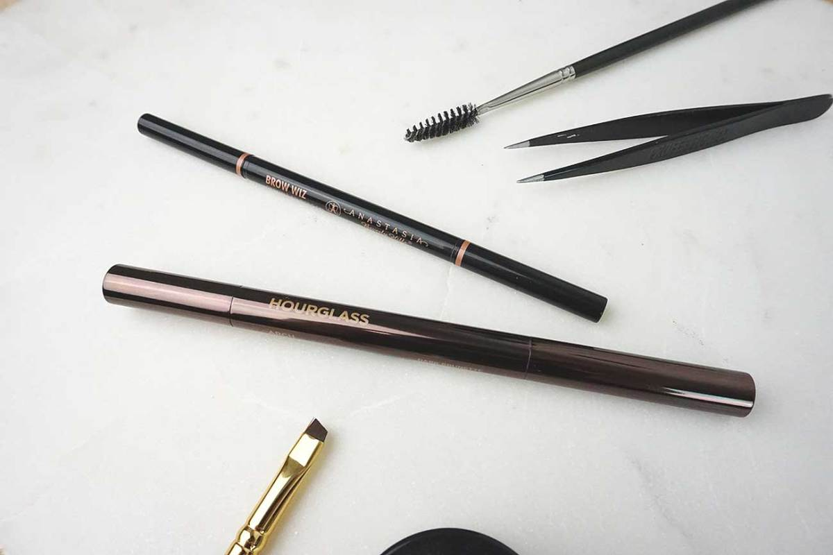 Anastasia Brow Wiz VS. Hourglass Arch Brow Sculpting Pencil
