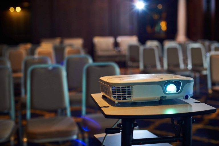 Film with an projector