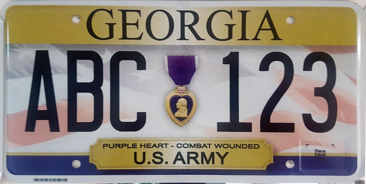 Honorary Consul License Plates