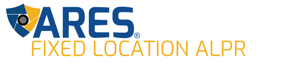 ARES Fixed Location License Plate Recognition