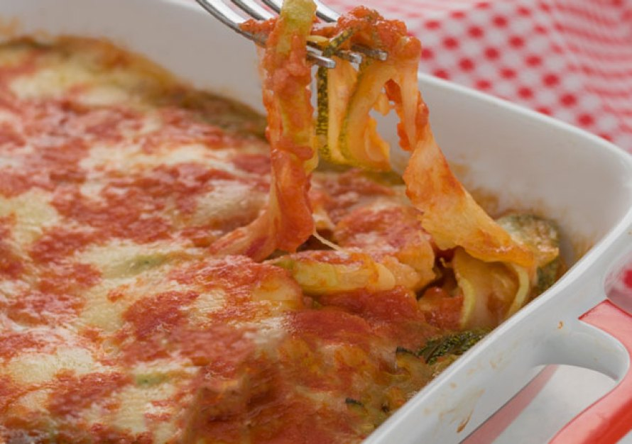 gratin de courgettes à la sauce tomate WW