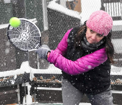 Platform tennis is winter