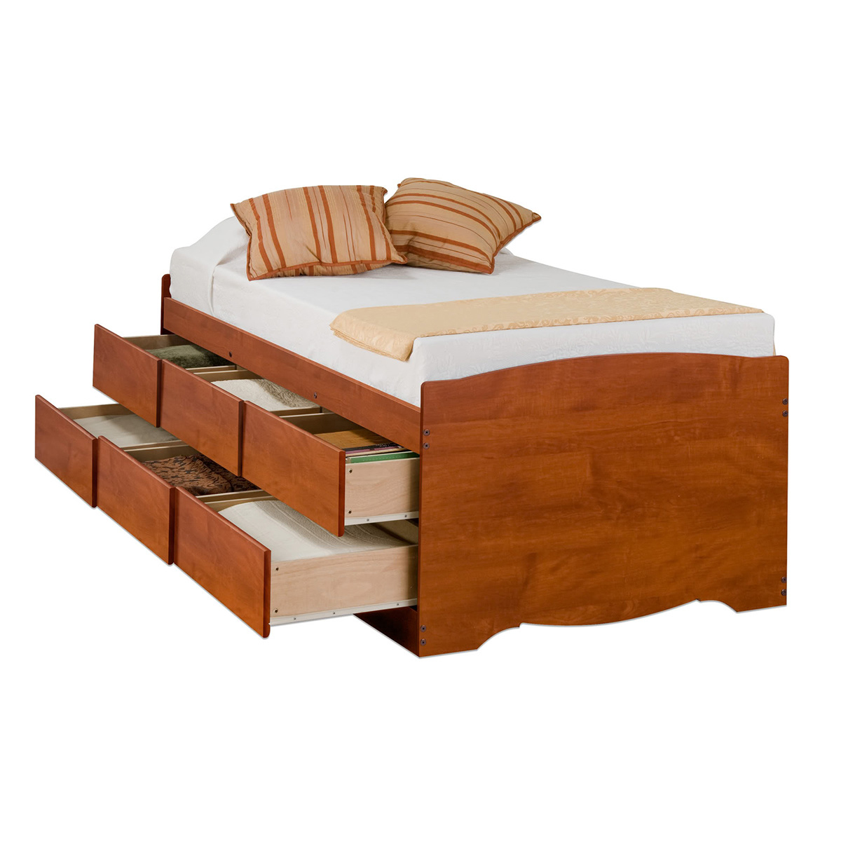 Captain S Storage Platform Bed