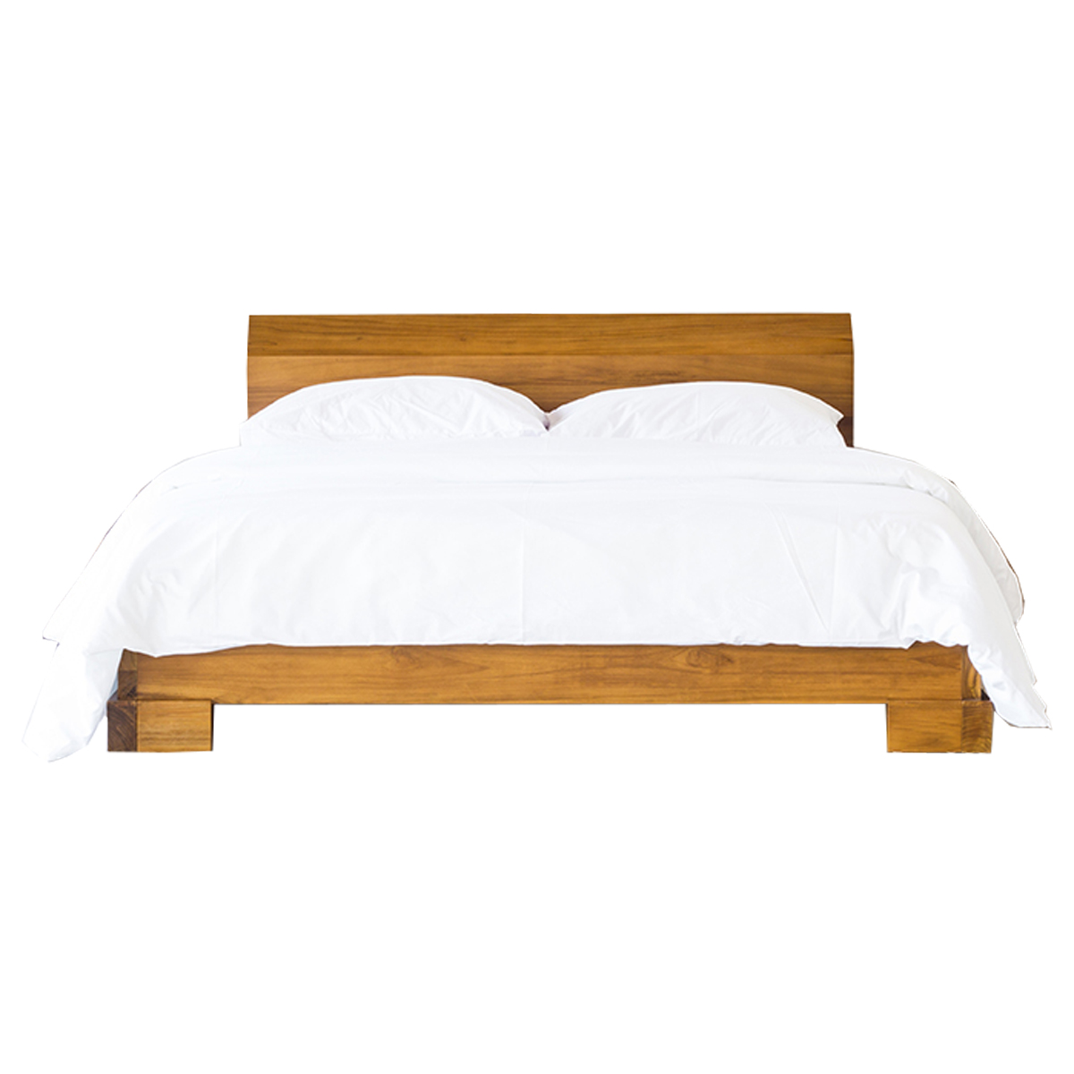 Kobe Platform Bed Danish Honey
