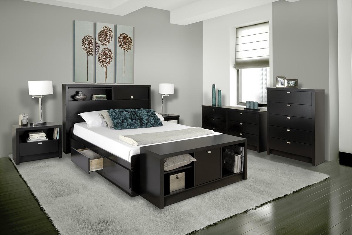 Series 9 Storage Platform Bed