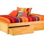 Classic Concord Platform Bed Flat Panel Footboard