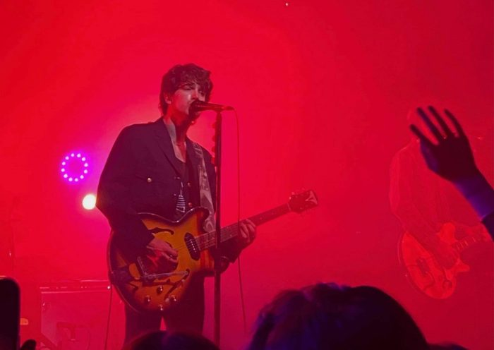 Irish band Inhaler, who played Rock City this week