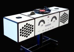 BRIONVEGA – RR226 «Fonografo» – Platine LP, Radio FM/AM, Lecteur CD
