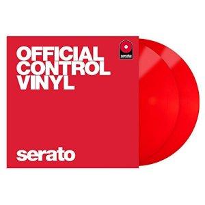 Serato SCV-PS-Rouge-2 Contrôle Vinyle Rouge