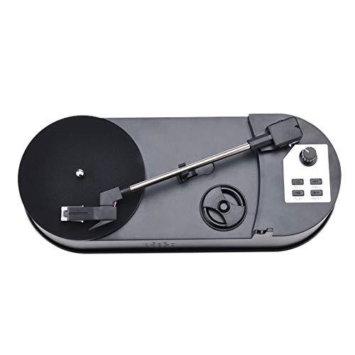 JFSKD Platine Vinyle, Tourne-Disque Vinyle, Phonographe Retro Portable 33/45 TR/Min, avec USB, Convertisseur De Platine Vinyle