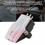 Aiguilles de tourne-disque à aiguille de stylet pour platine vinyle avec double canal