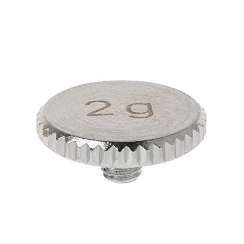 LEXIANG Headshell 4g 2g Coque Poids Plaque tournante métal pièces d'instruments électriques pour SL1200 SL1210 MK 2 3 5 M5G Stylet DJ